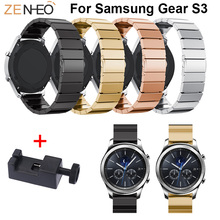 Stainless Steel Watchband For Samsung Gear S3 Frontier/Classic Strap for Galaxy Watch 46mm Band Man Replace Straps