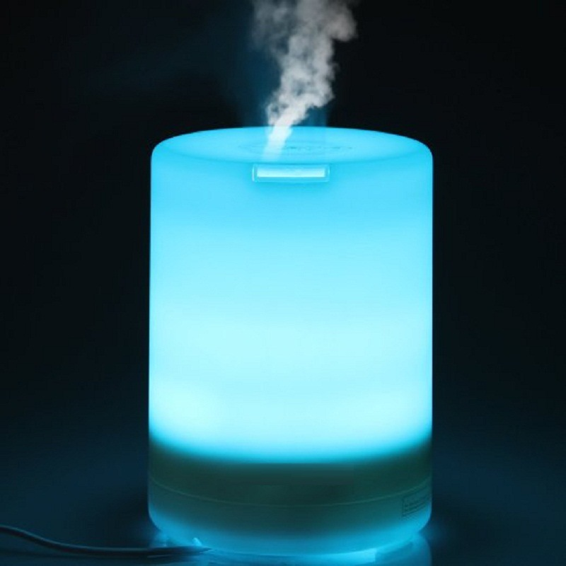 USB Night Lamp Creative Gift Air Aroma Humidifier Color LED Lights Electric Aromatherapy Essential Oil Aroma Diffuser