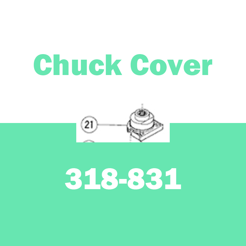Genuine CHUCK COVER for Hitachi 318831 D10YB Reversible Right Angle Drill Parts Electric Drill right angle drill attachment three jaw chuck key adapter handle accessory tool