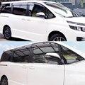 JY 8 шт. SUS304 оконная отделка из нержавеющей стали Нижняя крышка для стайлинга автомобиля аксессуары для Toyota NOAH/VOXY 2014-2017