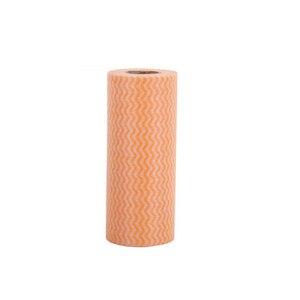 Image 5 - нетканой ткани одноразовые полосатые практичные тряпки вытирающие сочные колодки Чистящая салфетка полотенца кухонные полотенца микрофибра полотенце для кухни кухонные полотенца полотенца для кухни рулон салфетки