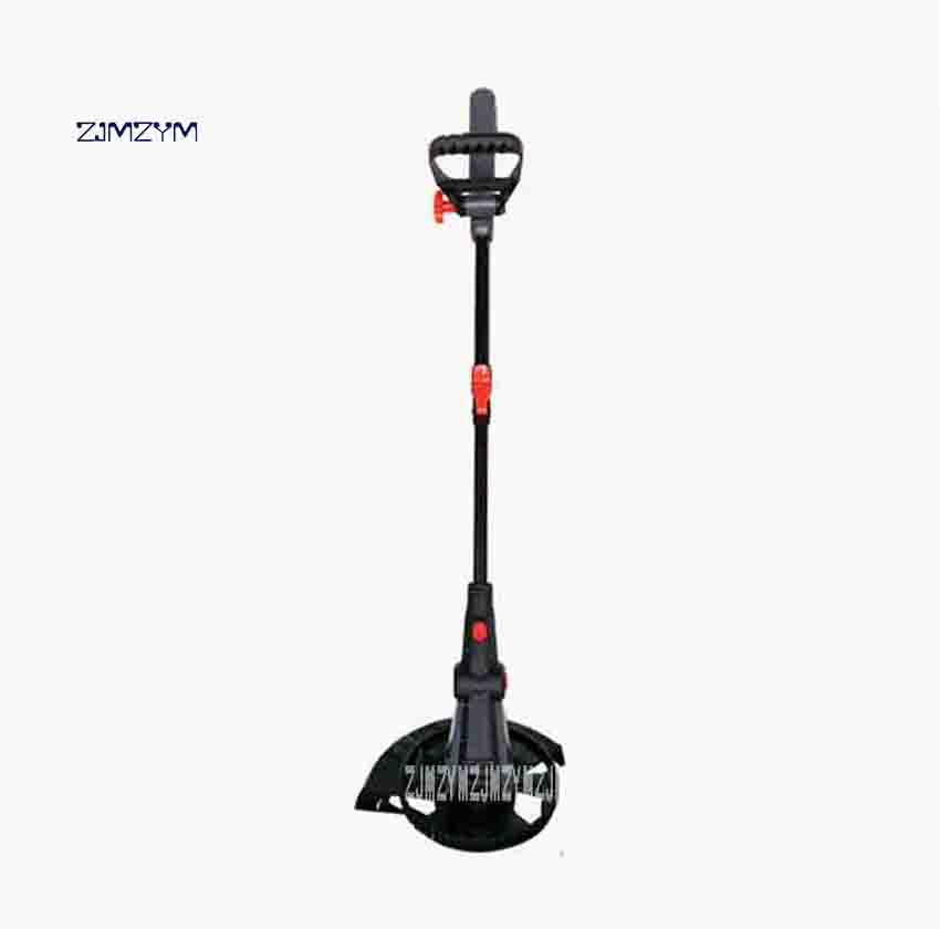 ZJMZYM New LYR-529 Portable Home Lawn Mower Gardening Garden Courtyard Grass Trimmer Electric Lawn Mower 220v 500W 9300 / min 1pcs nylon line brush cutter head garden lawn mower bump grass brush trimmer head garden repalcement tools black