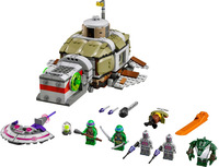 New Ninja Serie Submarine Tracking Set with Figures Building Blocks Educational Toys for Boys Compatible With Lego Children Gift