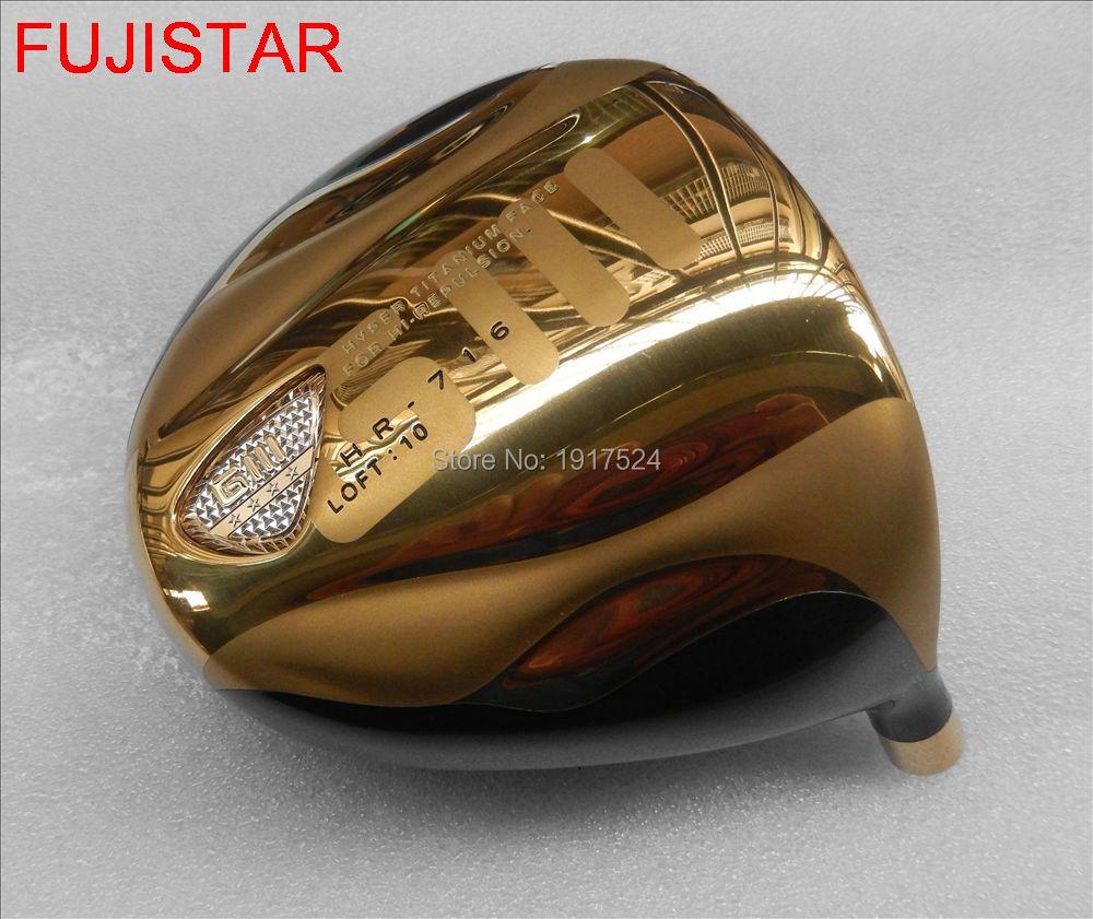 FUJISTAR GOLF GIII HR 716 HIGH COR Titanium golf driver head with cover matching