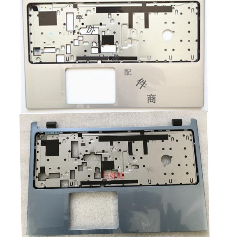 Nouvel ordinateur portable Supérieure top Case Couverture Pour ACER Aspire V5-531 V5-531G V5-571 V5-571G Repose-poignets non-tactile lunette clavier bleu argent