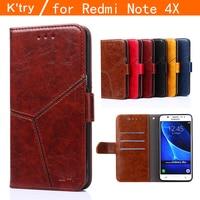 Xiaomi Redmi Note 4x Case Original 5 5 Inch Redmi Note4x Pro Prime Case Cover Leather