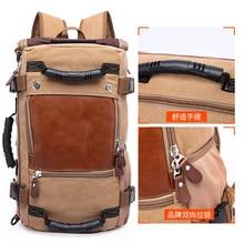 цена на Stylish Travel Large Capacity Backpack Male Luggage Shoulder Bag Computer Backpacking Men Functional Versatile Bags