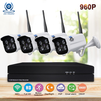 ZSVIDEO Surveillance System Security Camera Wireless Home Outdoor Motion 960P 1 3MP H 264 Video Record