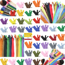 10pcs 3# 50cm(20Inch) Length Closed Nylon Coil Zippers Tailor Trousers slide fastener Garment Sewing Handcraft DIY Accessories