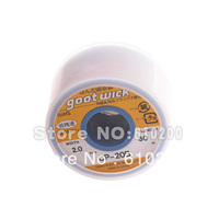 Free shipping 100% BGA Desoldering Wire 30m*2.0m goot wick / Soldering Accessory