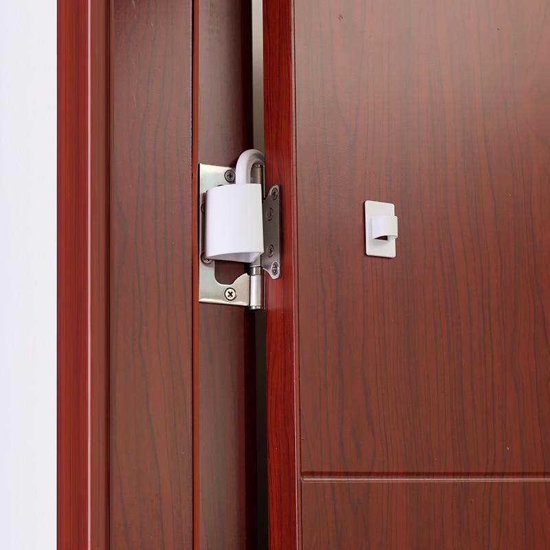 Door Stopper Doorknob Wall Protection Children Savor Shockproof Stop Door Handle Stopper Baby Safety Lock Finger Protector
