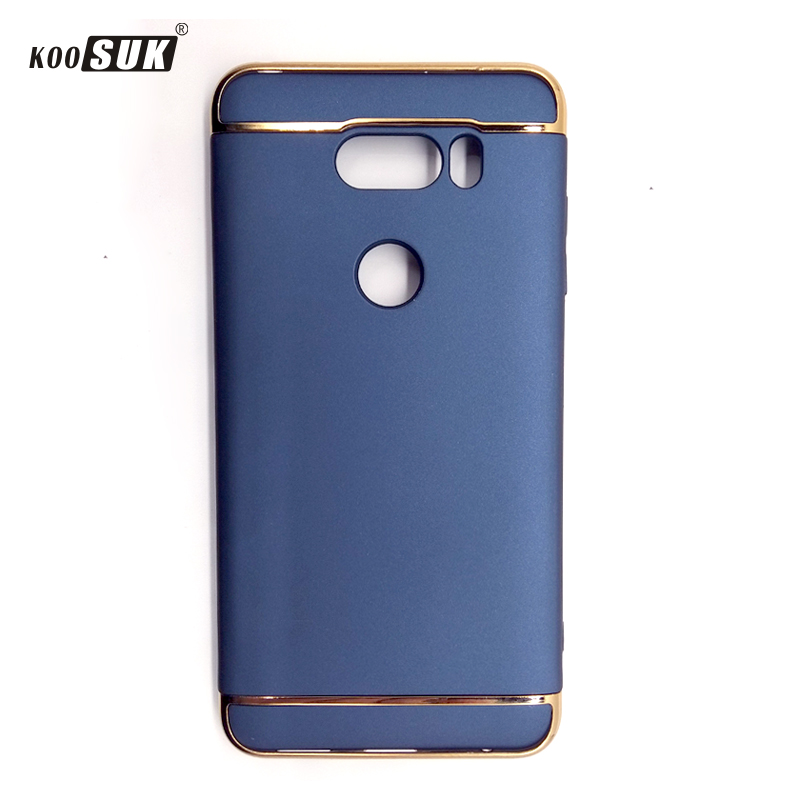 For LG V30 Cover Case Fashion business PC 3 IN 1 Back Protector Phone Coque