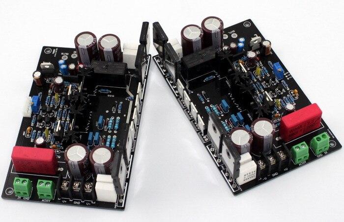 DC12V DARTZEEL No feedback amplifier board Original TT1943 / TT5200 op MJE15034 MJE15035 power amplifier board imitate dartzeel amplifier board