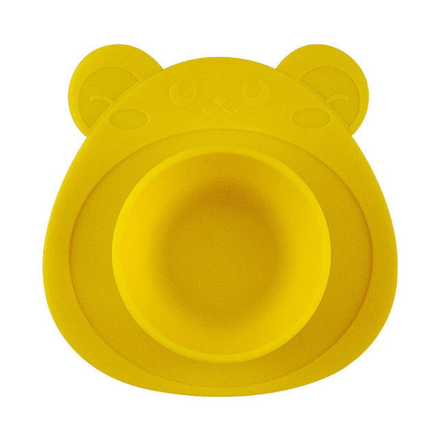 Yellow Animal food container 5c64f4868f197