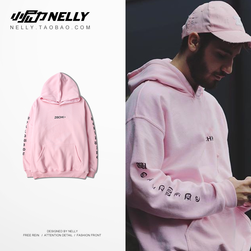 NELLY 2019 Autumn Winter 5 colors Optional England Hoodie Men's Hip Hop High Quality Trend Design Skateboard Sweatshirt(China)