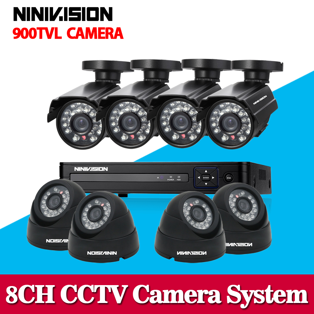 8ch 960h cctv video surveillance camera security system with 8pcs 900tvl outdoor camera dvr nvr kit hdmi 1080p 8 channel ahd dvr 4ch cctv system 960h hdmi dvr nvr 4pcs 900tvl ir waterproof outdoor cctv camera home security system surveillance kit 4 channel