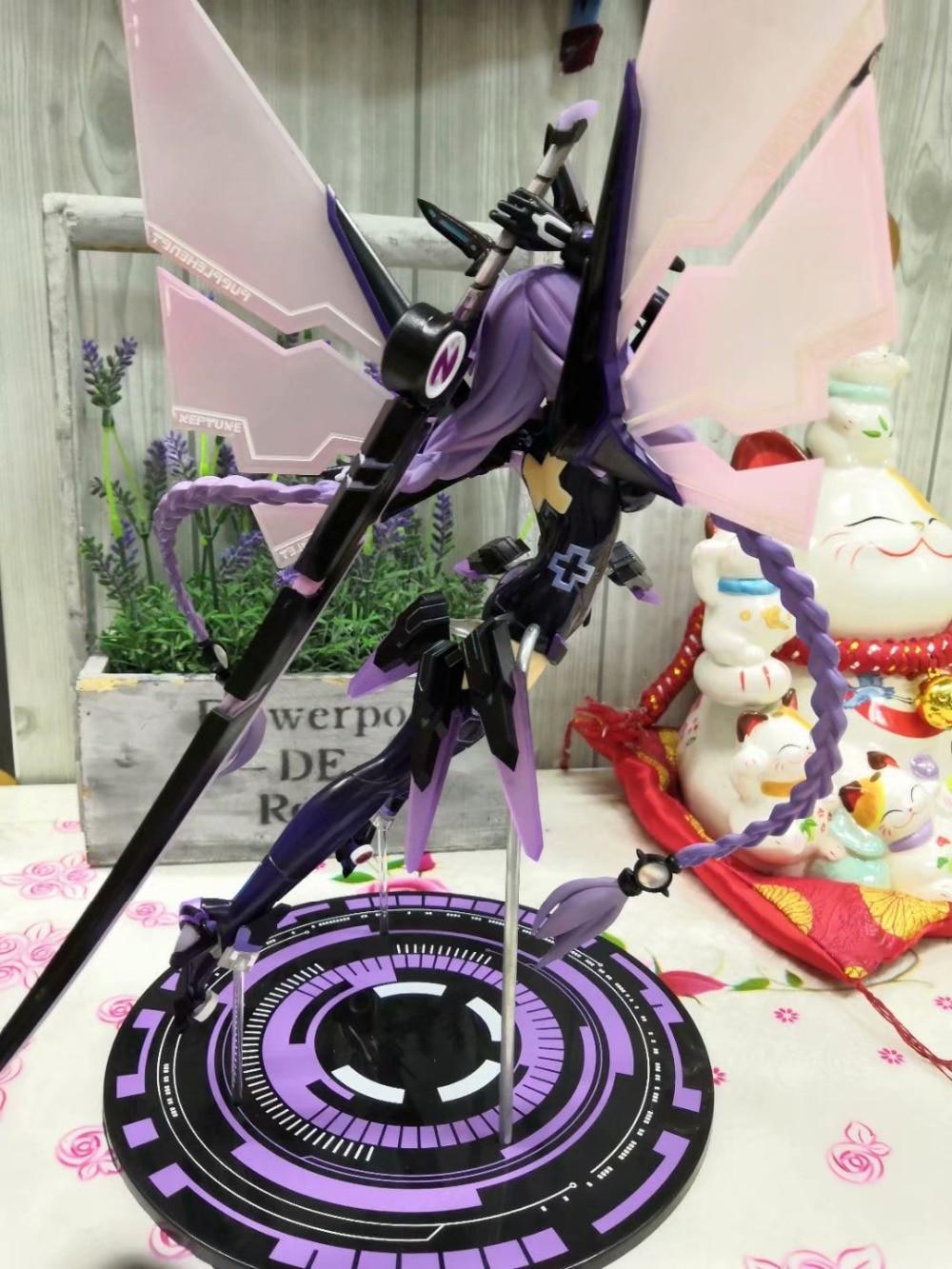 30CM Hyperdimension Neptunia Purple Heart Neptune Doll Cartoon Anime Action Figure PVC toys Collection figures 5