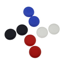Game Accessories 8Pcs TPU Analog PS4 Controller Cover Skin Thumb Stick Grips Joystick Caps Case for Sony PlayStation 4 Console