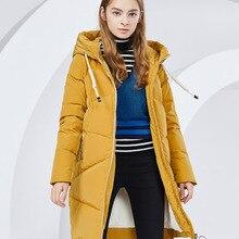 BOSIDENG winter jacket new down coat hooded long parka 90% d