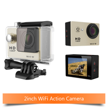 W9 WiFi Sports Camera Full HD 1080P Action Camera Wireless Diving Waterproof Underwater 30m action  Cam