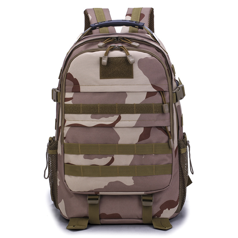 Outdoor Tactical Bags Military Molle Assault USB Backpack Hunting Rucksack Bag Hiking Camping Camouflage Bags 600D