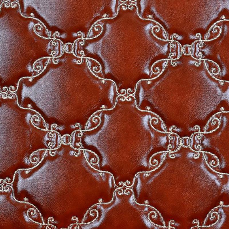 1 mètre Pu synthétique perforé cuir pour canapé Faux Eco cuir tissu d'ameublement pour meubles similicuir matériel néoprène