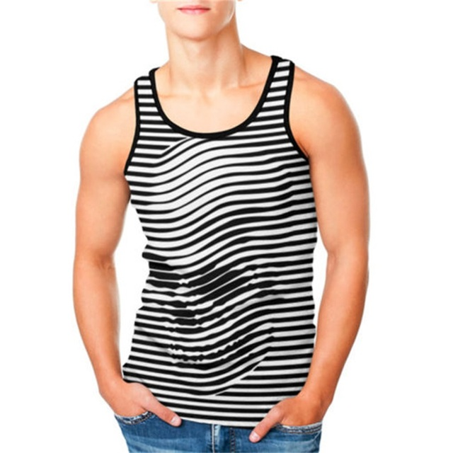 Skull  Tank Top. Fitness Sleeveless Shirt