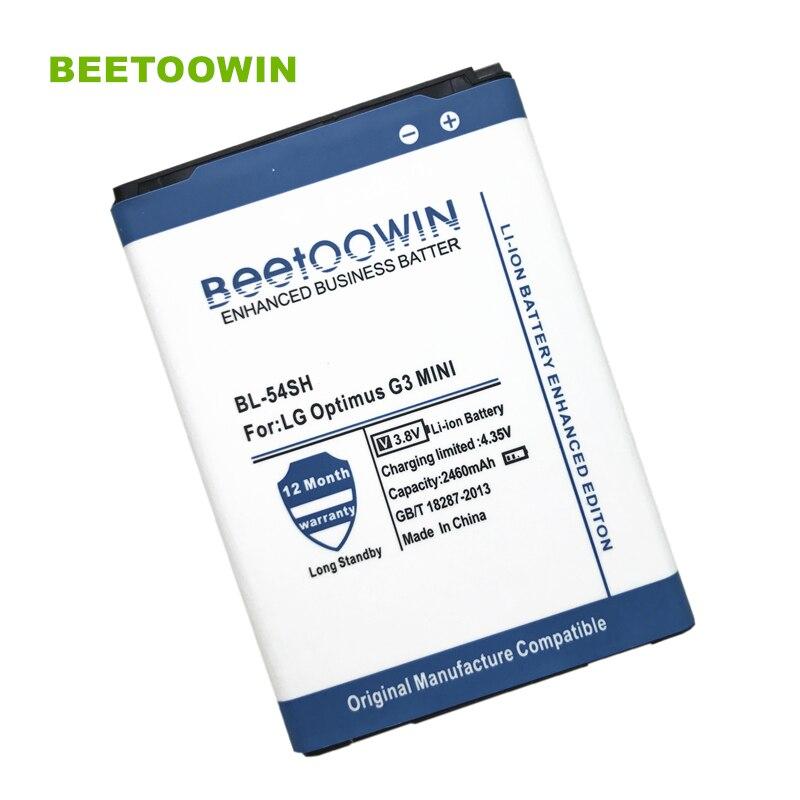 BEETOOWIN Battery For 2460mah BL-54SH Ect F260 Iii-Optimus US780 K/L F7 LTE LG