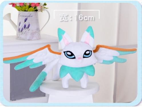 League Legends LOL Ezreal EZ Pet Yuuto Star Guardian Cosplay Plush Doll Toy +Track
