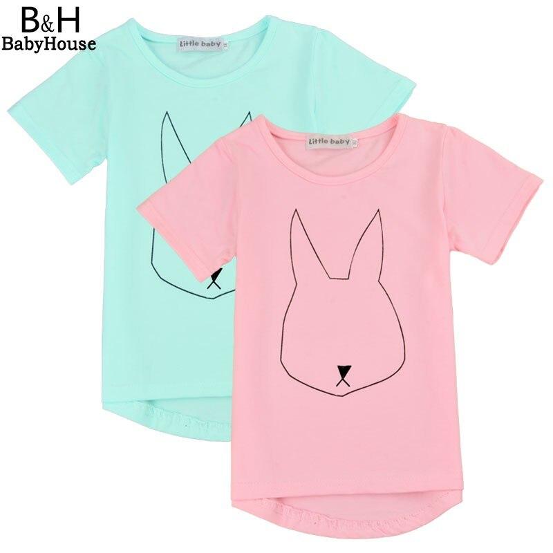 2017 Summer New Fashion Child Clothing Boys Short Sleeve T-Shirt Kids Girls Boy Clothes Cartoon Print Cute Baby Boys Tshirts Top