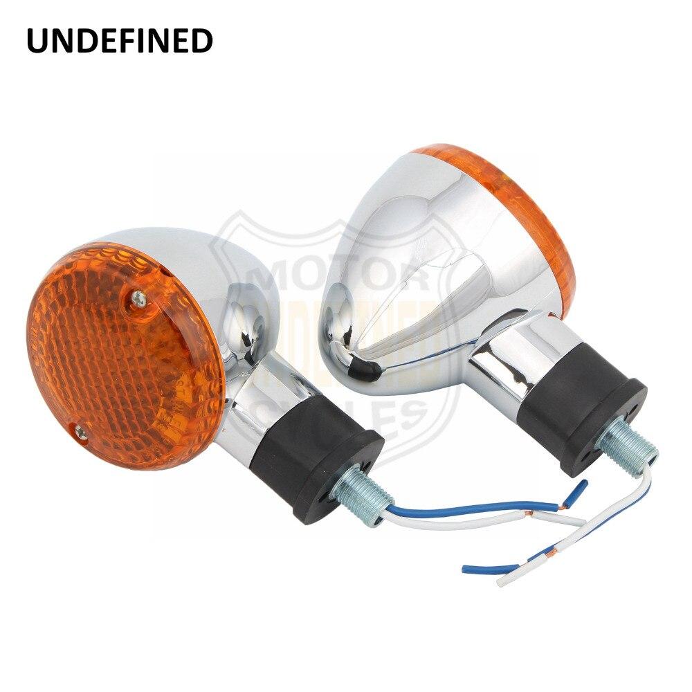 Chrome Turn Signals Motorcycles Bolt Light Bulb Blinker Indicators Lamp for YAMAHA Bolt XVS950 R/C Spec 2014-2018 2017 UNDEFINED title=
