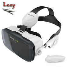 Maxinrytec Xiaozhai BOBOVR Z4 Version Virtual Reality Glasses Google Cardboard for 3.5 to 6.0″ Phones+Bluetooth Wireless gamepad