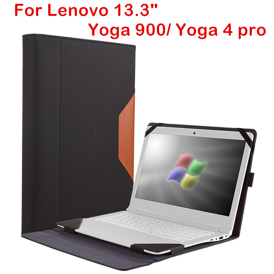 High Quality Case For Lenovo Yoga 900 Yoga 4 Pro 13.3 Inch Tablet Laptop Sleeve Cover PU Leather PC Protective Skin Stylus Gift for lenovo yoga book leather cases in one tablet package 10 1 inch sleeve high quality classic pu leather book case cover stylus