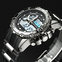 Mens Watches Luxury Brand Sport Watch Digital LED Military Watch Men Fashion Casual Electronic Wristwatch Relogio