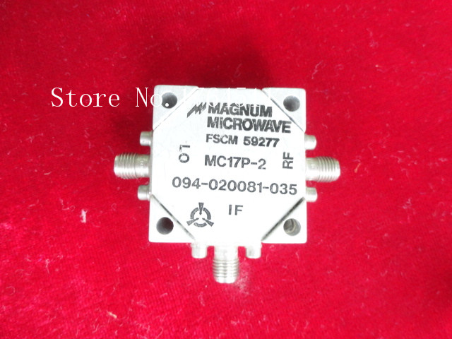 [BELLA] MAGNUM MC17P-2 RF/LO 1-5GHz IF DC-500MHZ SMA Double Balanced Mixer