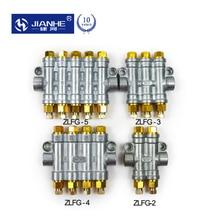 JIANHE ZLFG 2/3/4/5 способов объемный жир/масло поршня компонентов значение коллектор блок для системы смазки/фрезерный станок с ЧПУ