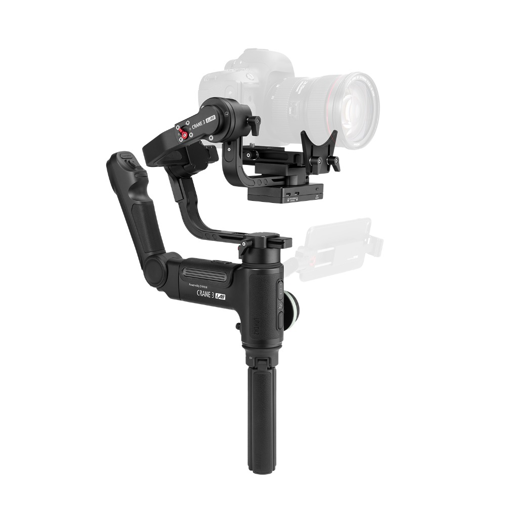Image 2 - ZHIYUN Official Crane 3 LAB 3 Axis Handheld Gimbal Wireless 1080P FHD Image Transmission Camera Stabilizer for DSLR VS Crane 2-in Handheld Gimbals from Consumer Electronics