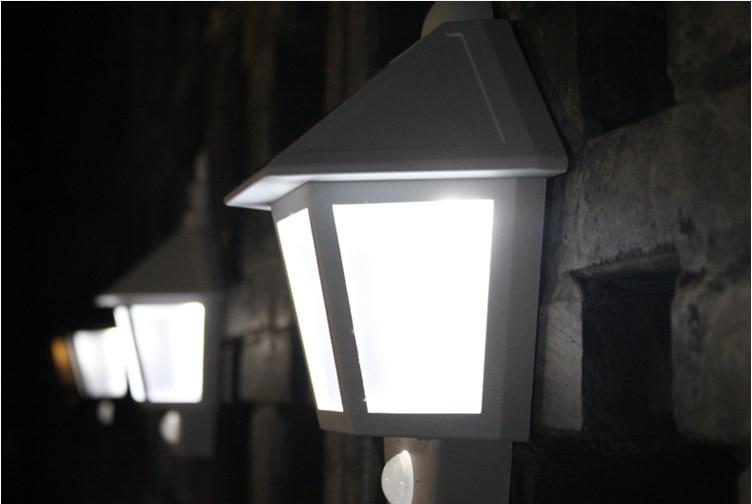 Solar Wandlamp Tuin : Retro led zonne verlichting outdoor tuin solar led wandlamp