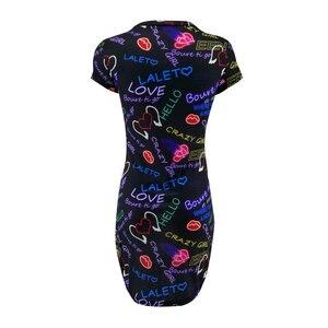 Женское облегающее мини-платье с коротким рукавом и объемным принтом бабочки, вечерние платья с коротким рукавом, лето 2019