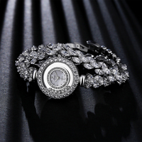 Women Zircon Watches Xinge Famous Brand Women Bracelet Watch Fashion Women Crystal Dress Quartz Watches Christmas Gift S0232