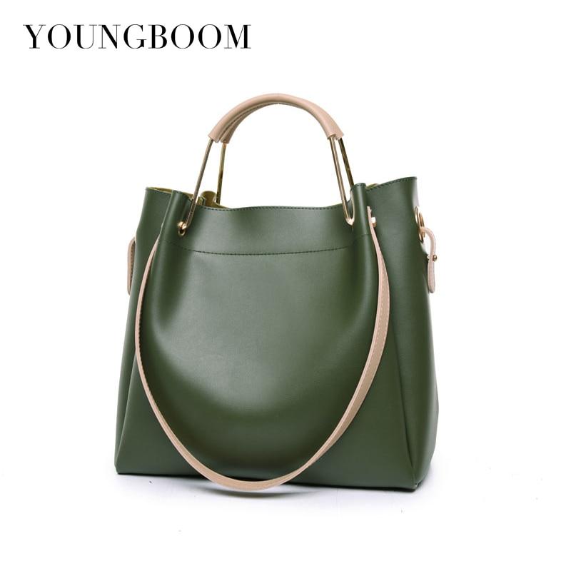 Vintage Women Messenger Bag Leather Shoulder Bags Designer Handbags Women Bags Large Capacity Ladies Totes Composite Bag Bolsas