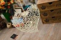 Fashion Fruit Candle Holder White Heart Candle Holder