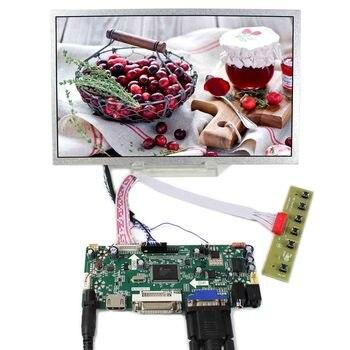 HDMI+DVI+VGA+AUDIO LCD Controller Board With 10.2inch 1024x600 CLAA102NA0ACW HSD100IFW1 LCD Screen