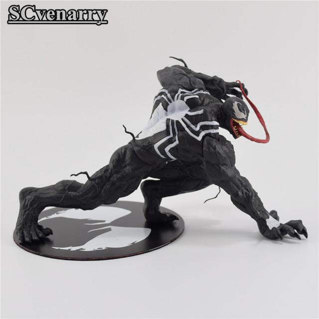Marvel The Avengers Amazing Spiderman Venom Figure 12cm