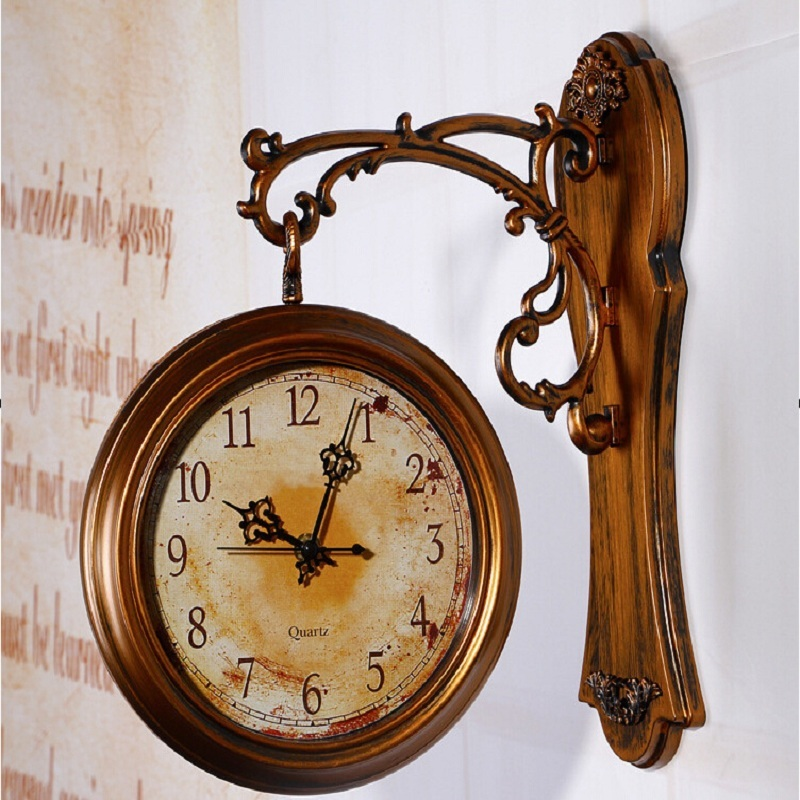 Wall Clock Modern Design Double Sided Wall Clock 3d