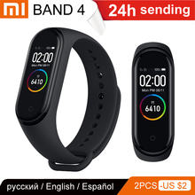 Xiaomi Heart-Rate-Tracker Media Message-Reminder Mi-Band Touch-Screen Fitness Sleep Notifications