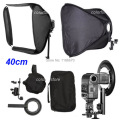 "40 x 40cm 16"" Soft Box Softbox Kit for Canon 430EX 580EX II Nikon SB600 SB800 Pentax Olympus YongNuo Flash Speedlite Speedlight"