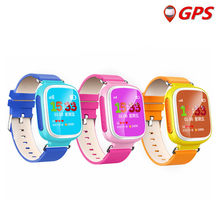 "Q523 1.44"" LCD Screen Kid GPS Smart Watch Phone Wristwatch SOS Location Tracker Safe Monitor Baby Gift Anti Lost for IOS Android(China)"
