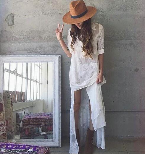 Летнее платье в бохо стиле | Aliexpress