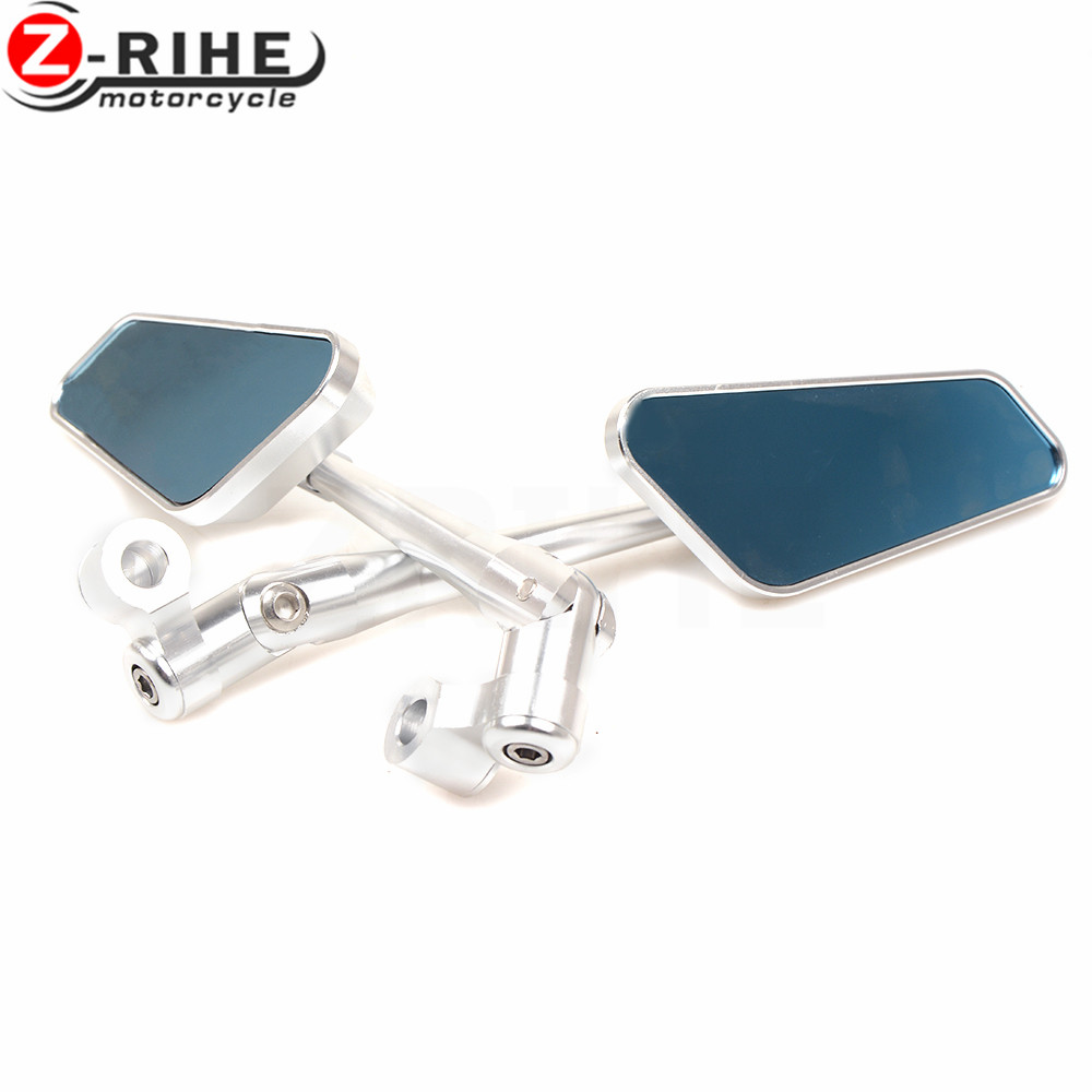 for universal motorcycle Aluminum accessories CNC Side mirror rearview Fits mirrors for Triumph SPEED TRIPLE 675 STREET TRIPLE R